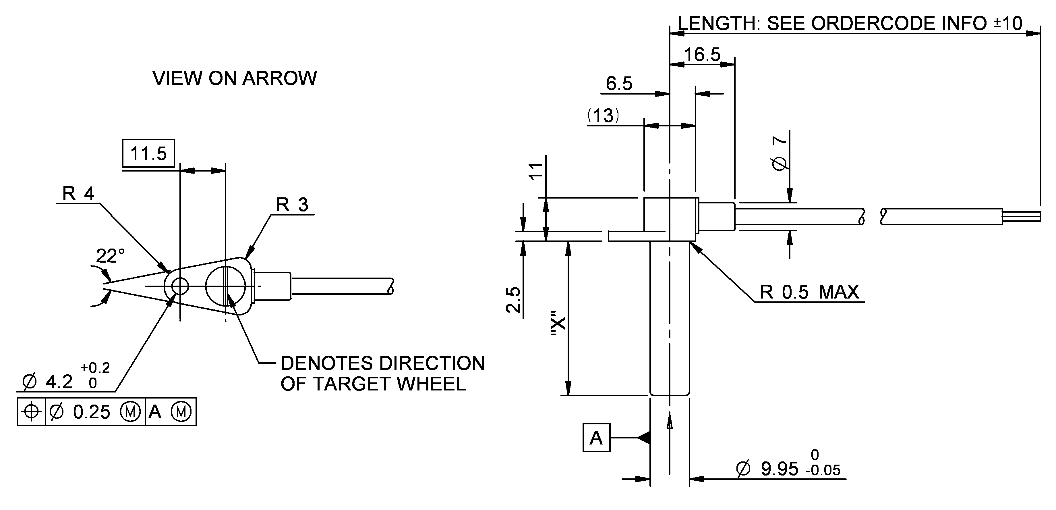 Hall Effect Speed Sensor Schematic Circuit Diameter Dhe Dimension 3678x1775