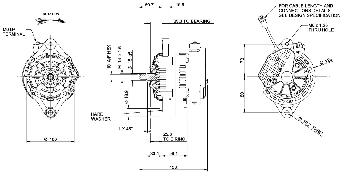 Mclaren Applied Technologies 100 Amp Alt Wiring Diagram Ford Motorcraft 180 Clockwise Rotation